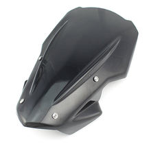 Cracking Resistance Motorcycle Front Windshield Windscreen For Kawasaki Z900 17-19 Airflow Wind Deflector Cover