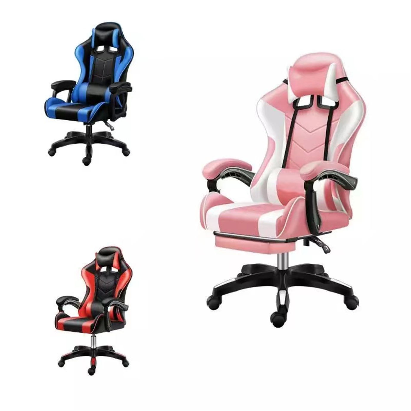scorpion gaming chair Racing Style ergonomic game chair High Back Computer Chair with Height Adjustment for gamer