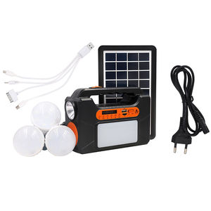 Tragbare solaranlage Generator Outdoor Power Mini DC 3W mini projekte Solar home Beleuchtung System