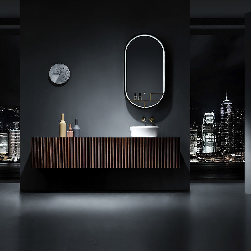 2019 latest new fashion modern style bathroom vanity cabinets