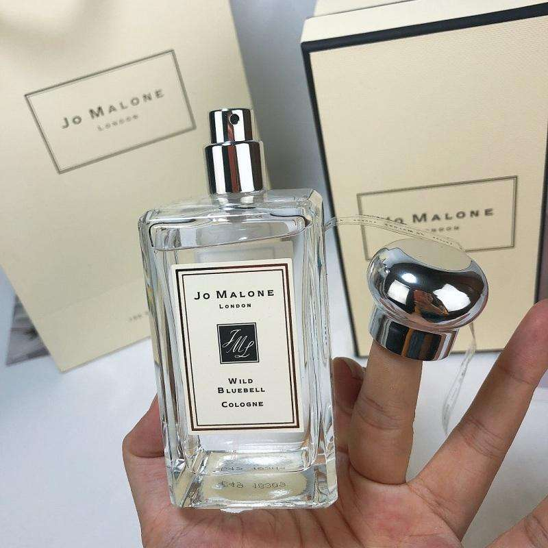 Jo London Malone Perfume 100ml Wild Bluebell English Pear Red Rose Cologne Unisex Fragrance Long Lasting Smell High Quality