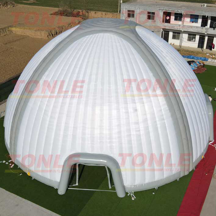 inflatable led china igloo shelter used air dome bubble tent for sale