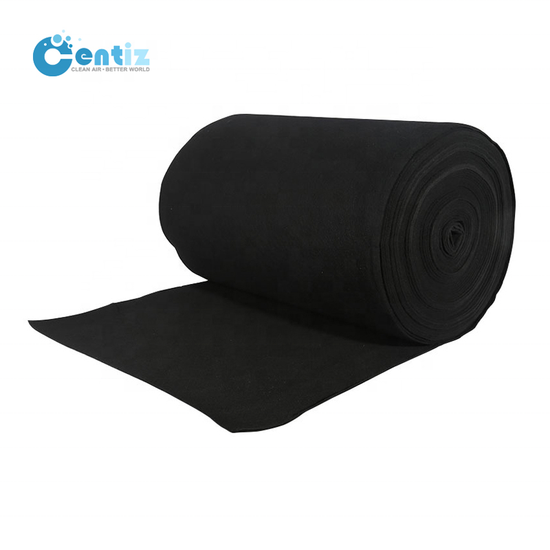 Wholesale activated carbon air filter odor control filter material