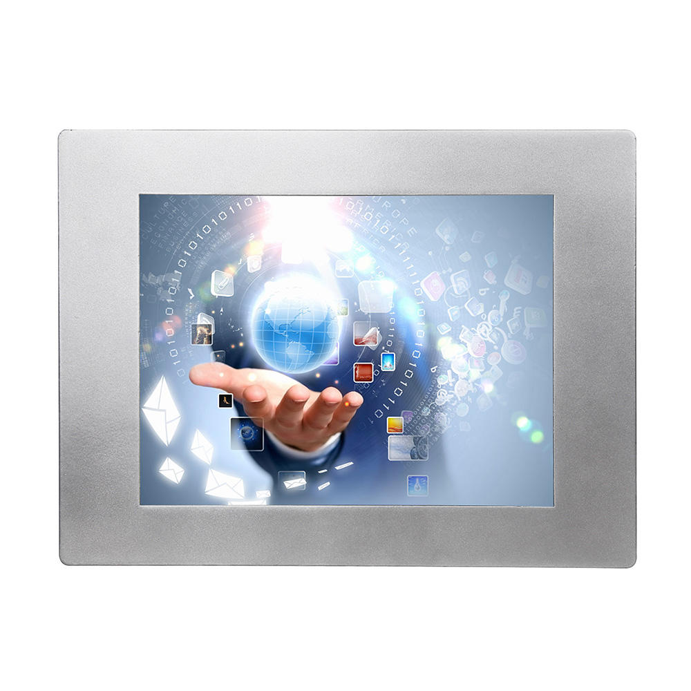 10.4インチIndustrial Touch Screen Panel PC Price Inwall Mount Panel PC J1900 Mini PC、3G 4G Module