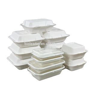 Eco-friendly biodegradable takeaway lunch food container