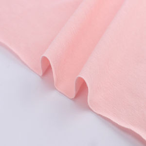 D102-3 Wholesale t-shirt single jersey knitting plain spandex polyester fabric cotton