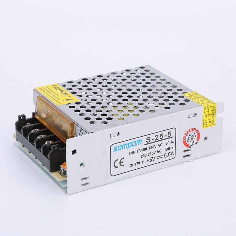 110V 60HZ S-25-5 power supply schalt 5v für LED