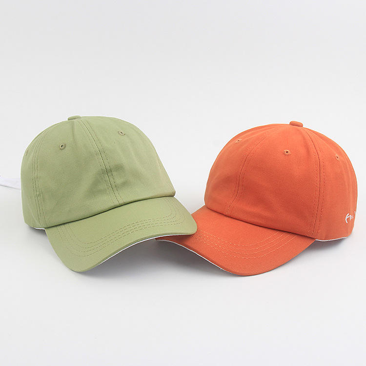 Factory Sales unisex metal logo 100% twill cotton multi color Company curve brim caps and hats with label