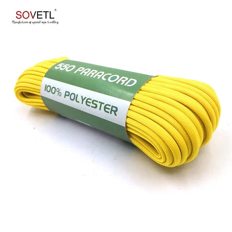 Survival Kit Type Polyester 7 Inner Strands Cheap 550 Paracord
