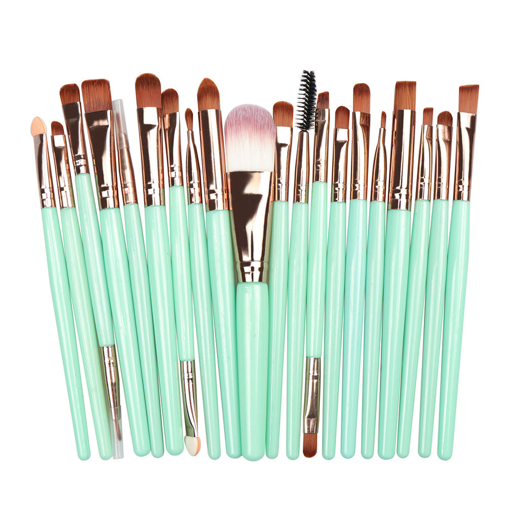 20 pcs Cheap Make Up Brushes Kit Private Cosmetic Brush Face Makeup Brush Set
