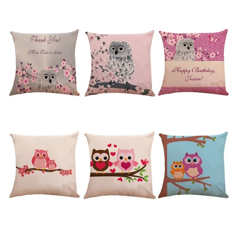 Printed cushion garden waterproof outdoor throw pillows cushion covers for Tent Park Couch