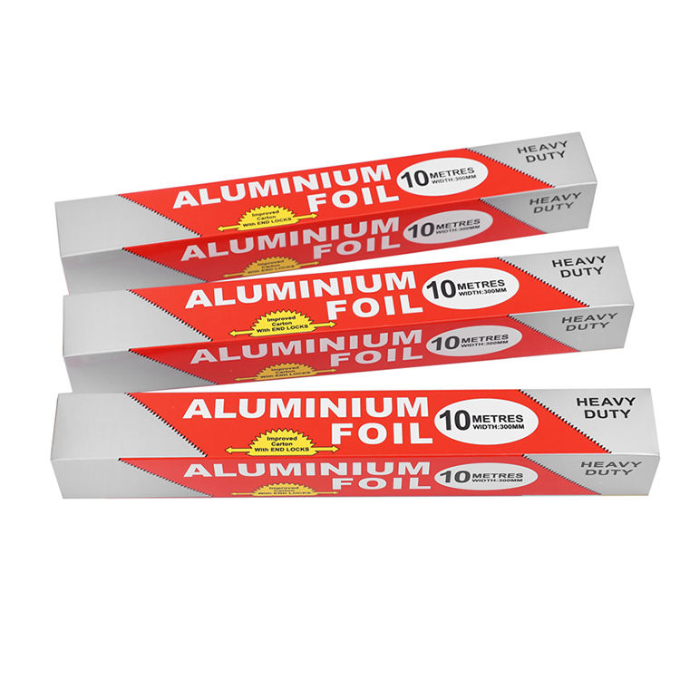 High Quality Disposable Household 10 Micron Food Grade Aluminium Foil For Kitchen Use
