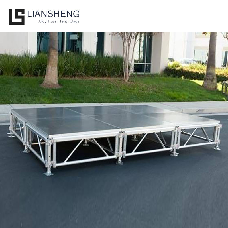 Aluminum Trailer Mobile Outdoor Event Stage for Wedding Party