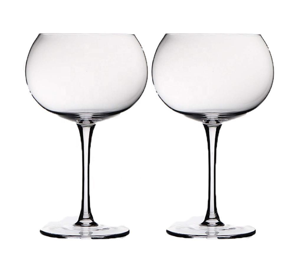 Conjunto de 8 Blanco Policarbonato plástico Gin /& Tónico Globos vino Cóctel Gafas
