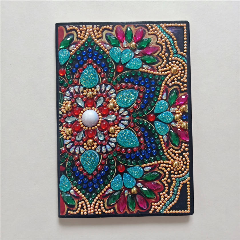 Christmas Birthdays Gifts Ideas a5 African flowers Diy journal 5d diamond beads painting notebook