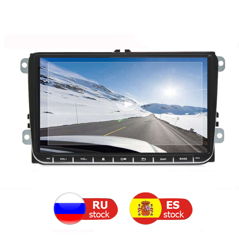 Android Auto GPS-Navigation Multimedia-Player universal Für <span class=keywords><strong>VW</strong></span> Volkswagen Vento Amarok Käfer Scirocco EOS Bora Sharan caddy