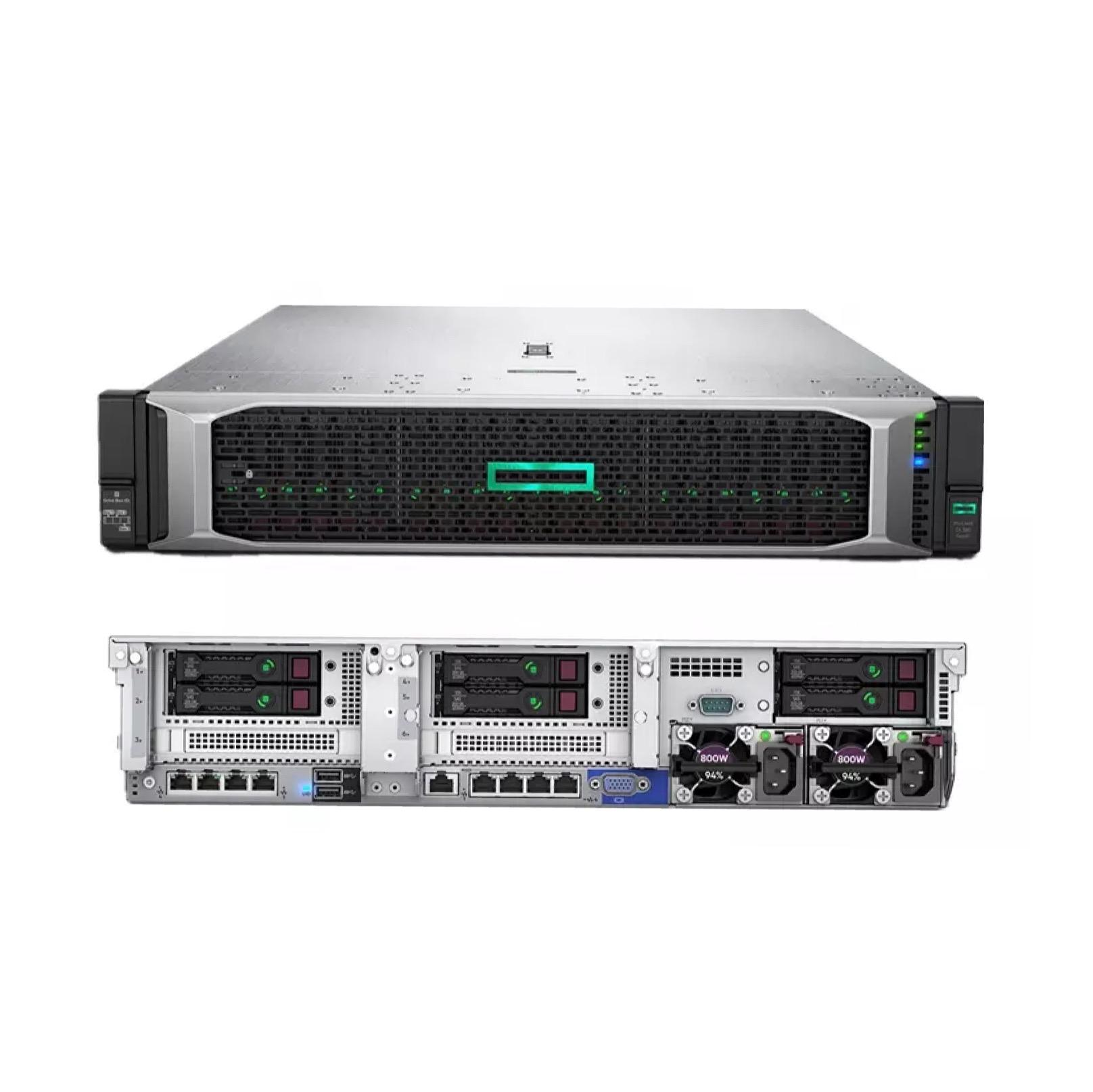 在庫DL380 GEN9 IN-TEL XEON 12-CORE E5-2690V3/ 2.6GHZ、64GB DDR4 3*600G 800W PS 2Uラックサーバー