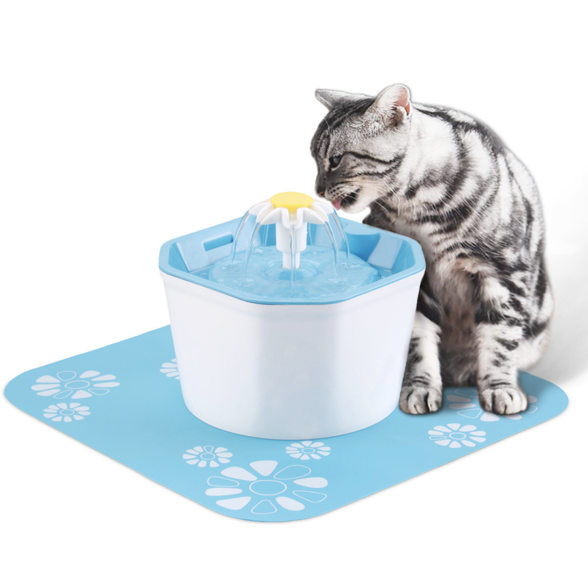 Cat Feeder Automatic Cat Drinking Fountain Pet Drinking Water Dispenser Pet Water Fountain