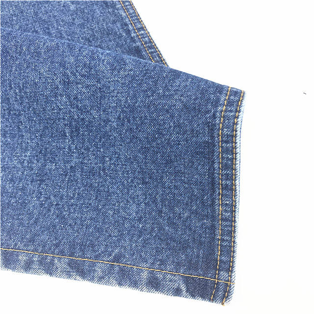11 unze 100% recycle baumwolle denim-stoff