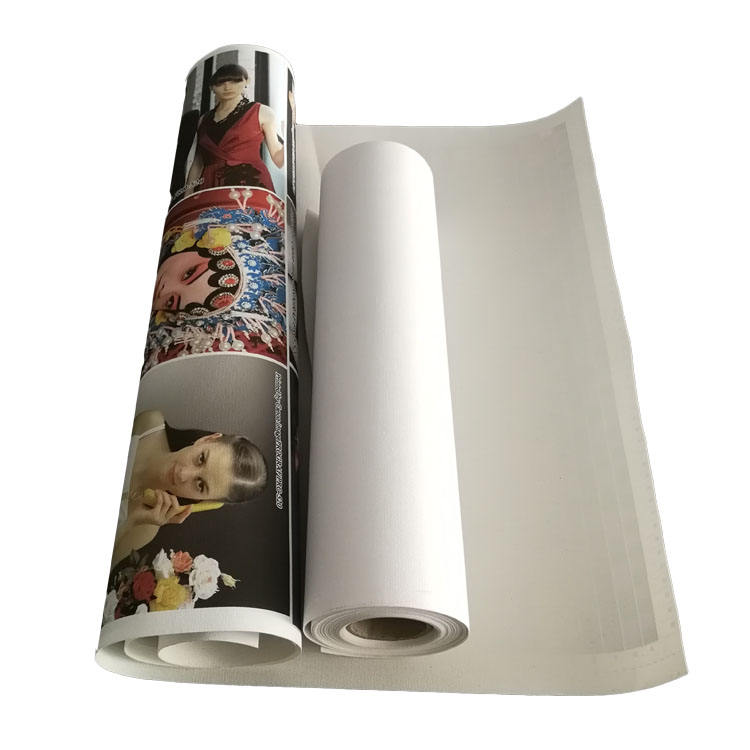 360gsm Aqueous Printing Artist 100% Cotton Roll Canvas Inkjet 44 Inch Matte