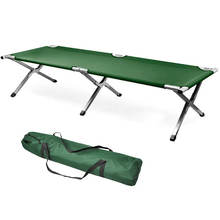 metal single frame folding sleep camping bunk bed cots for camping