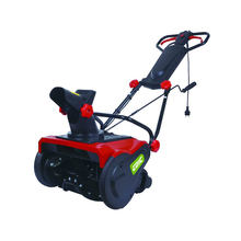 FIXTEC 2000W Portable 120V 230V-240V Sweeper Snowblower Single Stage Electric Start Snow Blower With Double Safety Switch