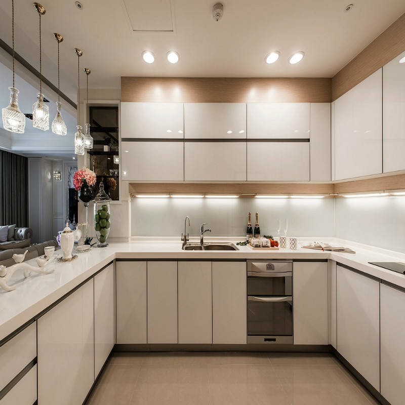 Chinese Furniture MDF Kitchen Cabinetry Lacquer Kitchen Cabinets
