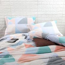 Polyester materials bed linen new design luxury bedding set bed sheet
