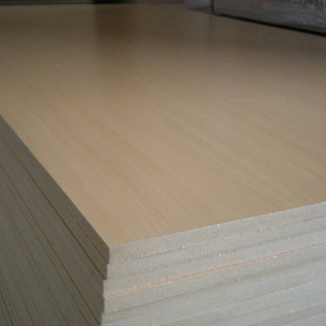 BQ best quality standard size raw MDF sheet for cabinet furniture