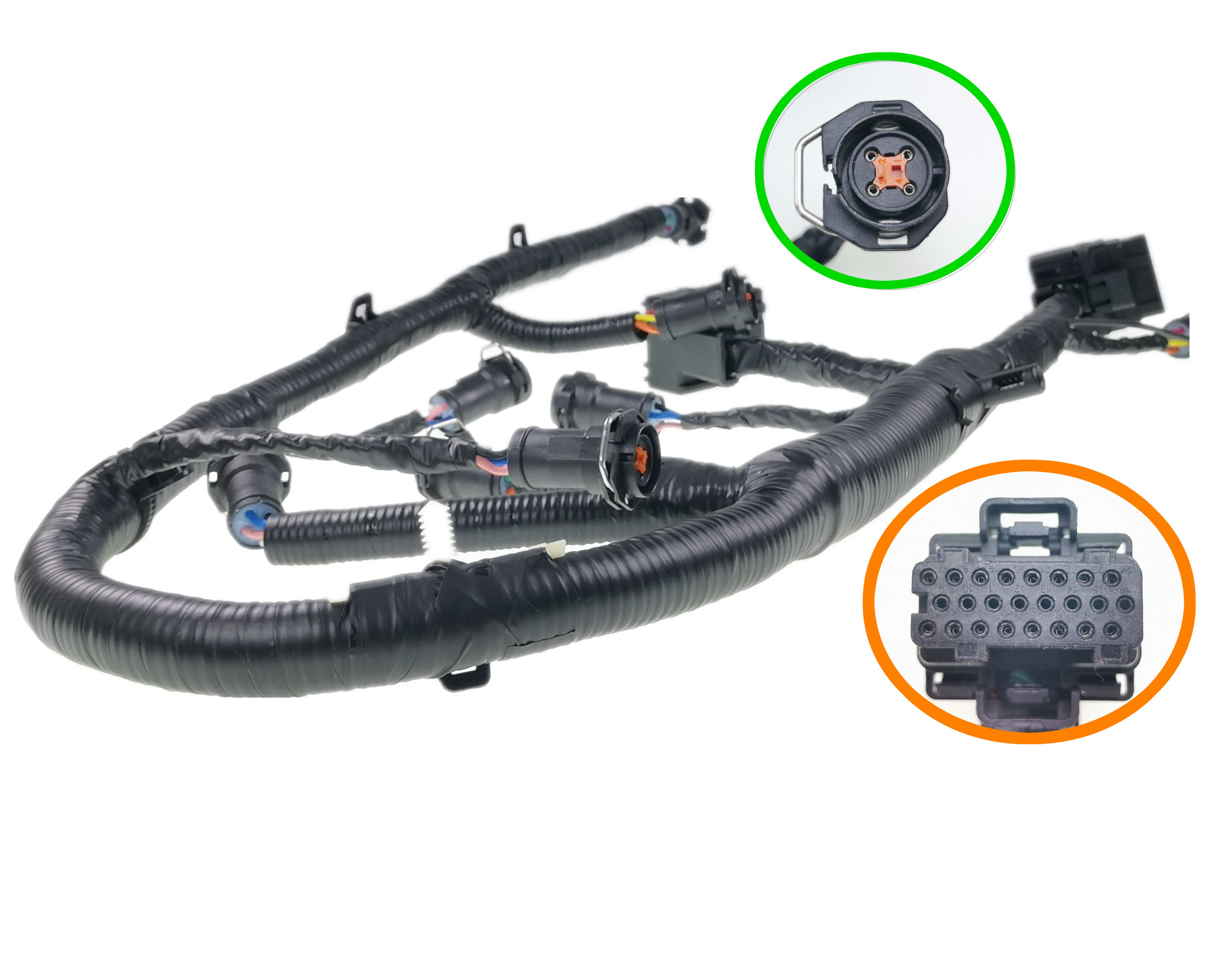Automotive Cable Harness NEW Trailering Mirror Wiring Harness Right Left Set For Truck With IATF16949 UL Certification Manufacture In DongGuan