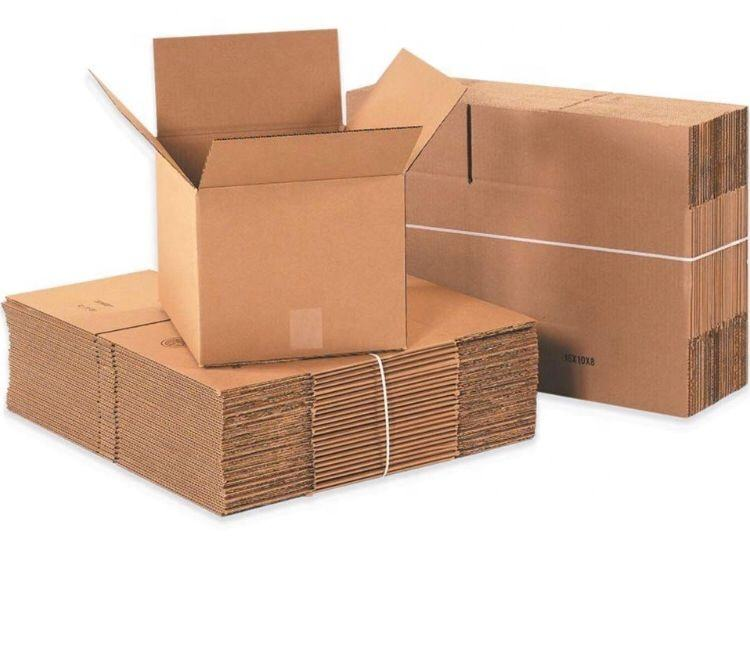 Customized Folding 3 Layer Hard Corrugated Cardboard Box For Shipping