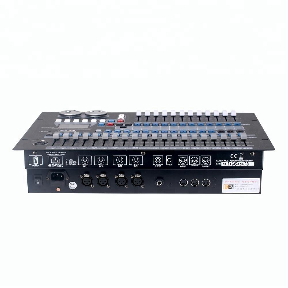 512 / 1990 DMX LED Light Controller Maximum 512 DMX Channels controller , 60 Palette