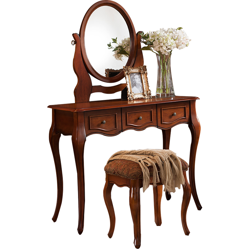 Hot seller makeup dressing table dresser with mirror modern