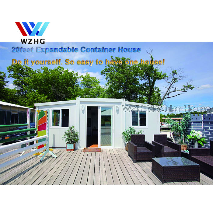Hotel China Prefab Modular Homes House /porta Cabin / Casa Australia 20ft And 40 Ft Foldable Expandable Container House For Sale