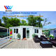 China Prefab modular homes house /porta cabin / casa , australia 20ft and 40 ft foldable expandable container house for sale