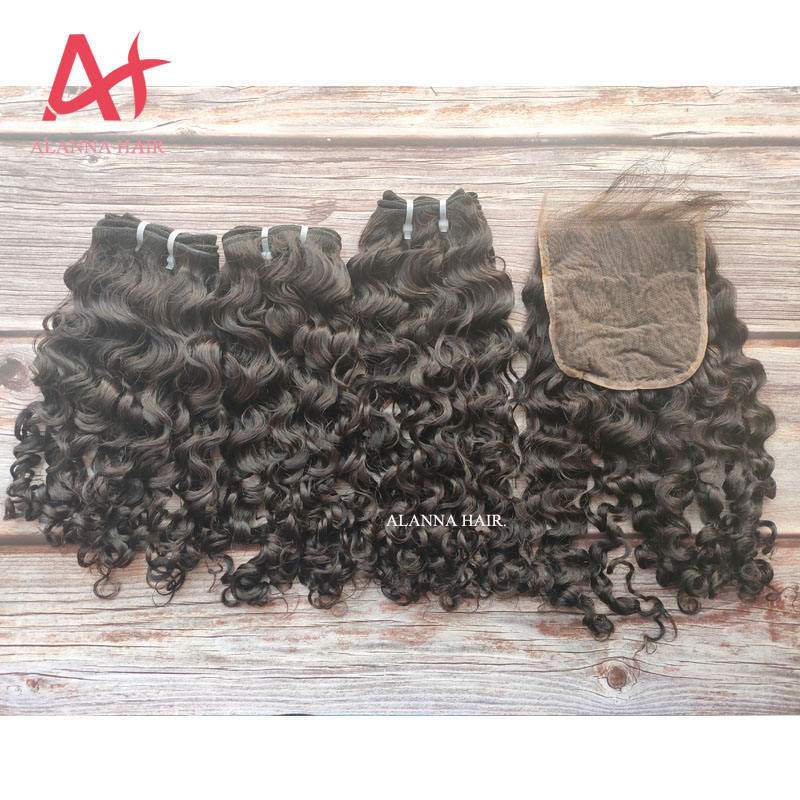 "12A Cambodian Loose Deep Curly Virgin Hair Natural Color Raw Cambodian Hair Unprocessed Human Hair Weave Bundles 10""-32"""