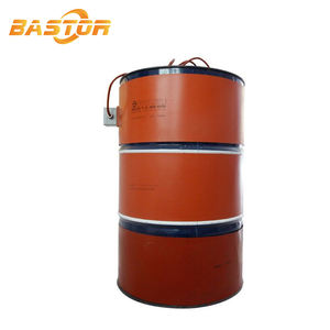 1740x250mm 200 liter digital electric flexible oil drum heater silicone rubber heating pad