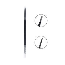 Waterproof automatic empty eyebrow pencil with brush
