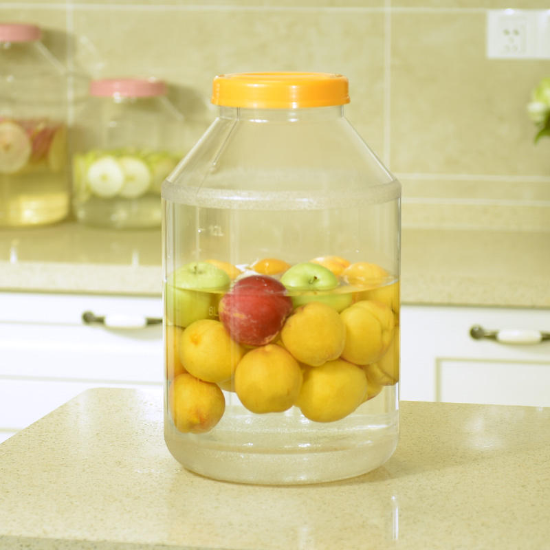 New Kitchen Rice Fruits Storage Box Bucket Cereal Dry Food Keepers Container Jars Spice Holders Sliding Lid with Tap