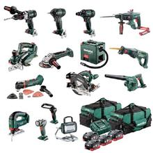 Metabo MX15LB4HD5.5V 18V 5.5Ah LiHD Lithium-Ion 15 Piece Mega Mixed Brushless Cordless Combination Combo Kit