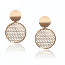 99145 xuping elegant gold earrings wholesale dubai style drop earrings for women 2019