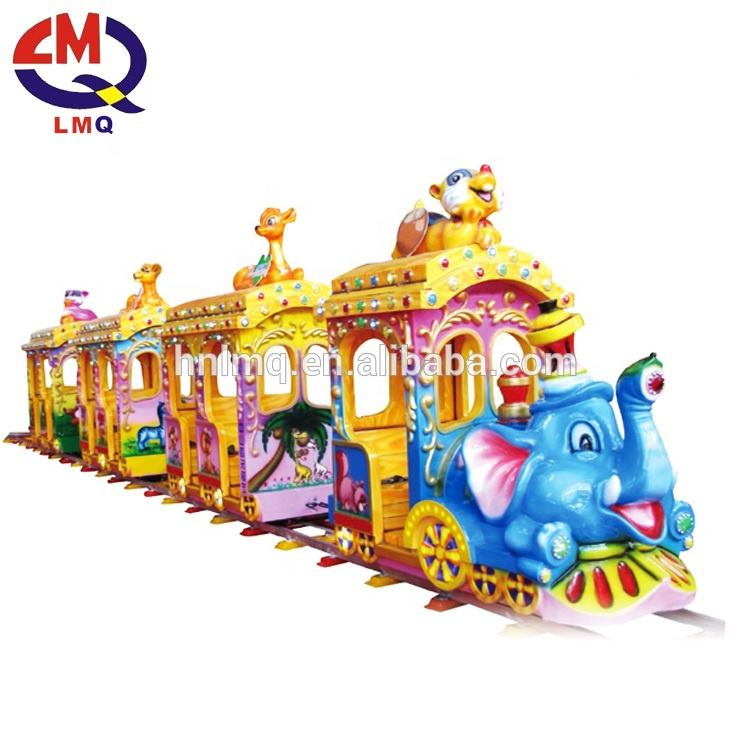 China amusement park Shopping Mall Electric track train supplier
