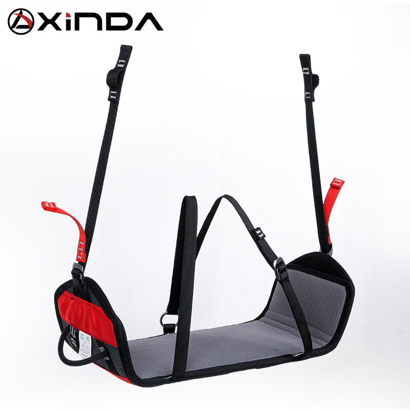 XINDA new aluminum and nylon suspension seat used with harness for work at height