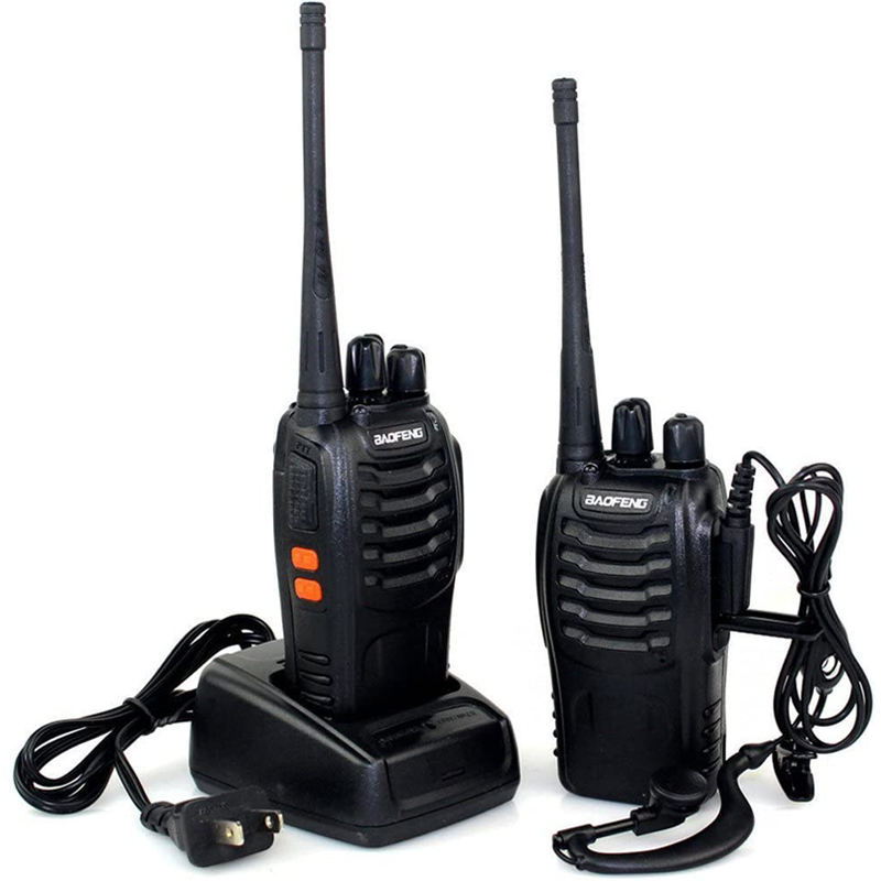Longa Distância Mini Handheld 2 Rádios <span class=keywords><strong>Walkie</strong></span> Talkies Baofeng BF 888s <span class=keywords><strong>UHF</strong></span> 400-470mhz Canal 16 1500mah <span class=keywords><strong>Walkie</strong></span> <span class=keywords><strong>talkie</strong></span>