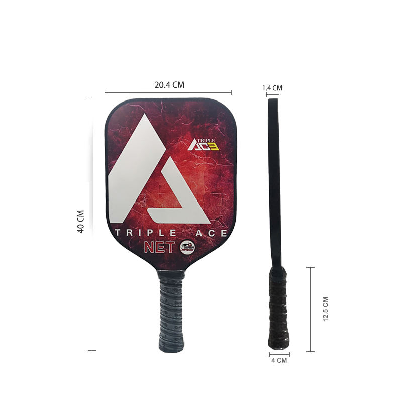 2020 Hot Koop Custom Triple Ace Netto Graphite Pickleball Paddle <span class=keywords><strong>Racket</strong></span>