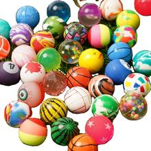 25mm mixed bounce ball Multiple styles mixed packaging Solid rubber bounce ball