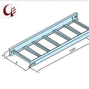 Standard Size Galvanized Electrical Cable Ladder