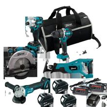 MARVEL High Quality N in One Brushless Cordless power tools lxt1500 15 pieces 18v Combo kits cordless