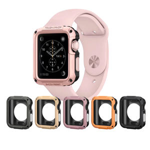 Ivanhoe Protector Cases Cover Voor Apple Horloge Case 44 Mm 40 Mm Pc Case Voor Iwatch 4 5 Anti-fall Frame Shell Accessoires