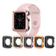 IVANHOE Protector cases cover For Apple Watch case 44mm 40mm PC Case For iWatch 4 5 Anti-fall Frame Shell Accessories